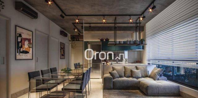 Apartamento com 2 dormitórios à venda, 71 m² por R$ 396.000,00 - Setor Marista - Goiânia/G