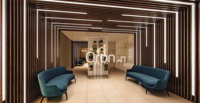 Apartamento com 2 dormitórios à venda, 71 m² por R$ 396.000,00 - Setor Marista - Goiânia/G - Foto 3