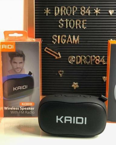 Promoção Caixa de Som KAIDI Original