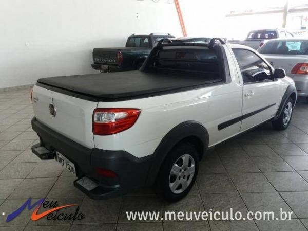 Fiat Strada Working 1.4 Fire Cabine Simples 2018 - Foto 2