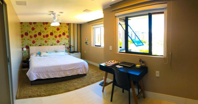 Apartamento com 180 metros, 3 suítes, mobiliado e decorado com vista para o mar - Foto 11