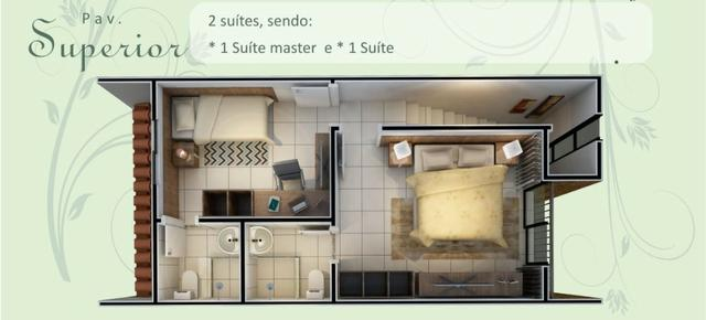 Dupléx Novo em Condomínio, Passaré, 70m2, 2 Suítes, Varanda, Quintal e 1 Vaga - Foto 16