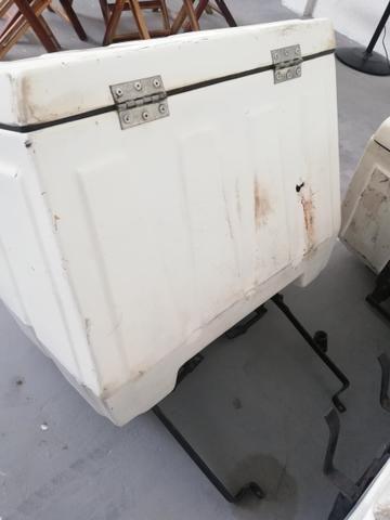 Baú de fibra para moto - Foto 2