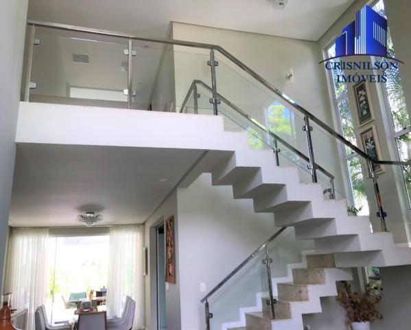 Casa à venda alphaville salvador i, excelente, r$ 2.500.000,00, piscina, espaço gourmet, 4
