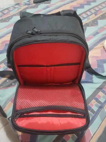 Mochila para equipamento de fotografia oferta apenas 100 reais!
