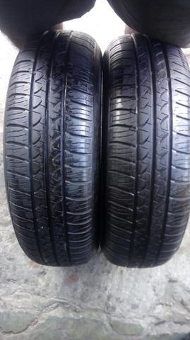 2 pneus 165/70/13 seminovo