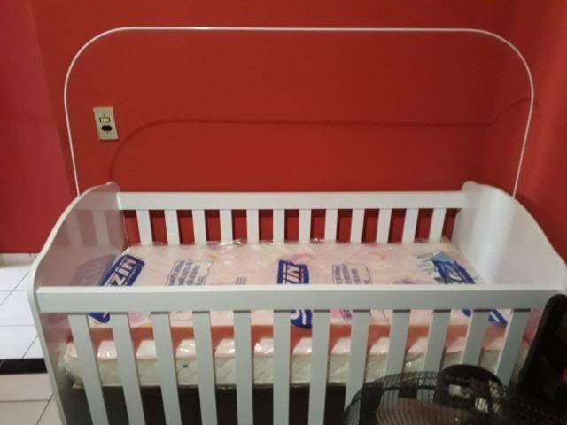 Berço cama e colchão novos - Foto 2