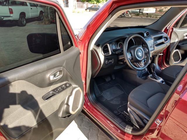 Jeep Renegade Sport 1.8 Flex Automático 2018 estado de zero km ! - Foto 8