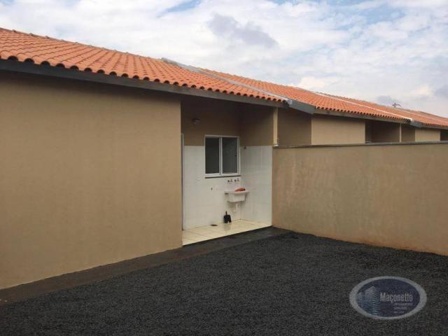 Casa com 2 dormitórios para alugar, 50 m² por r$ 650/mês - jardim maria imaculada i - brod - Foto 11
