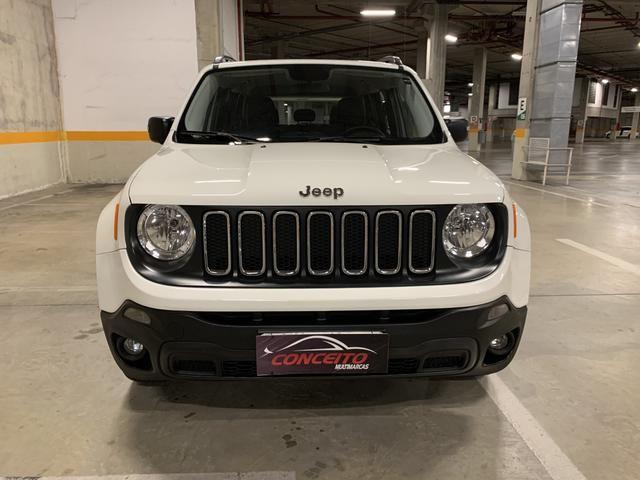Jeep renegade sport diesel 2016 4x4 c/ bancos em couro extra!!!