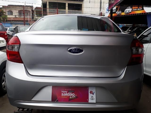 Black Friday*Somente no mês de Dezembro!Ford Ka 1.5 SE ano 2018 Prata, GNV. Completo!! - Foto 5