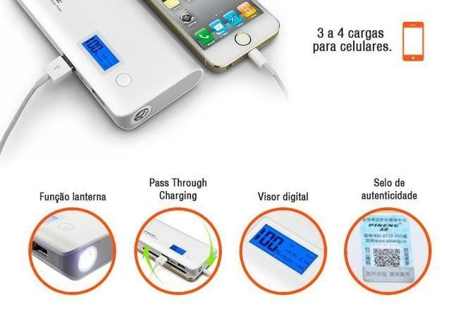 Bateria portátil para celular 1000MAH