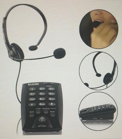 Vendo Aparelho telefonico marca Elgin - Headset