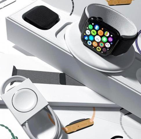 Apple Watch Serie 4, 40 e 44mm Silver/Rose/Space Gray (Lacrado)