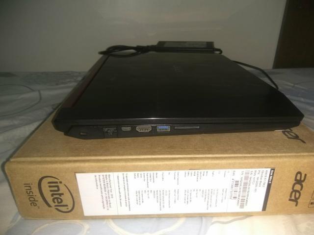 Acer Nitro 5 Topo de linha i7 7700HQ 16gb ram GTX1050TI 4gb