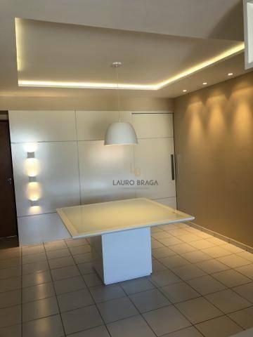 Edf. Vivart Apartamento com 3 dormitórios à venda, 83 m² por R$ 420.000 - Jatiúca - Maceió - Foto 10