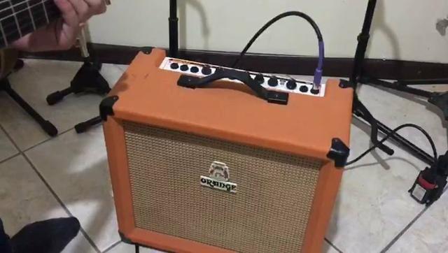 Amplificador orange crush 30 r