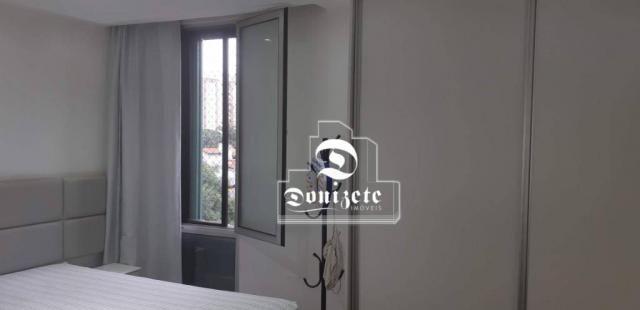 Apartamento com 4 dormitórios à venda, 118 m² por R$ 450.000,10 - Campestre - Santo André/ - Foto 12