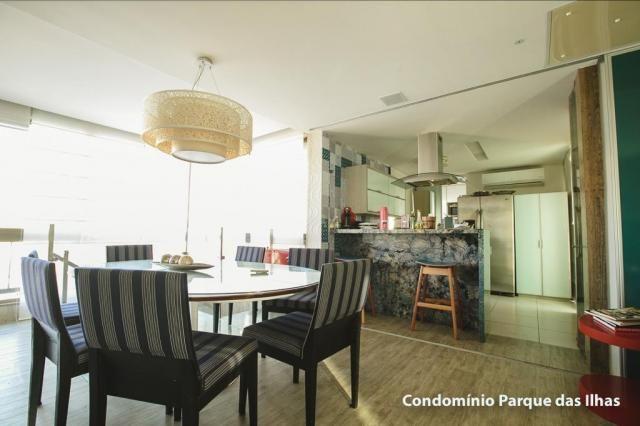 Vendo linda cobertura duplex no parque das ilhas(Porto das Dunas) 164m, toda projetada, po - Foto 16
