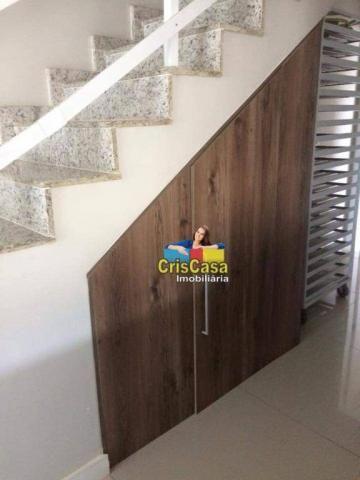 Casa com 4 dormitórios à venda, 132 m² por R$ 380.000,00 - Praia Mar - Rio das Ostras/RJ - Foto 4