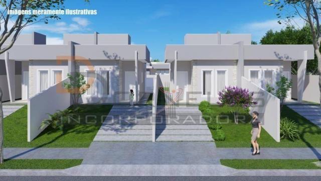Casa recém construída no Jd. Cataratas com 2 quartos, amplo quintal - apta para financiame - Foto 10