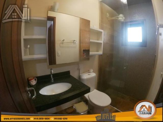 Casa com 4 dormitórios para alugar, 180 m² por R$ 3.900,00/mês - Porto das Dunas - Aquiraz - Foto 17