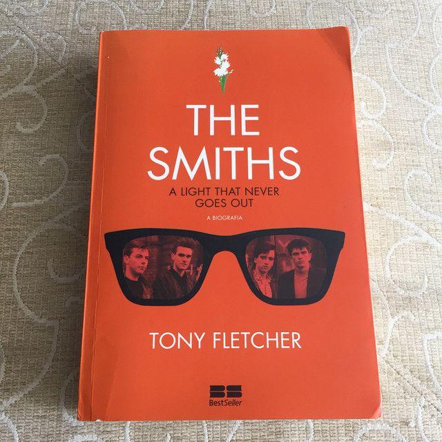 Livro biografia The Smiths
