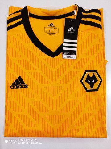 Camisa Wolverhampton Home Adidas 20/21 - Tamanho: G - Foto 3