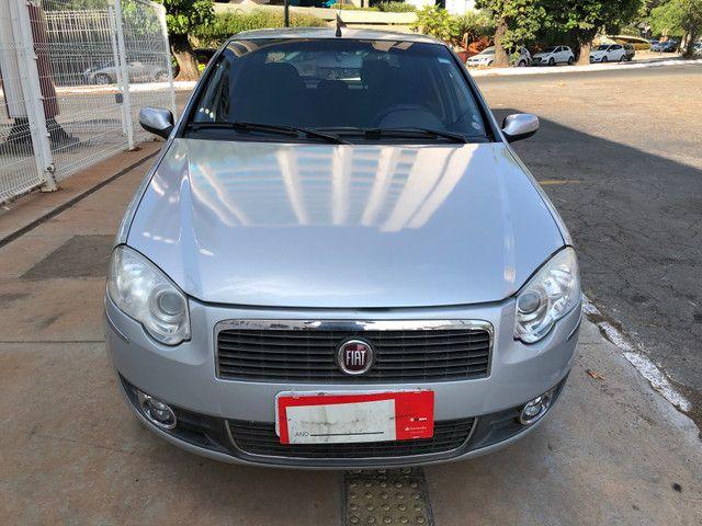 Fiat Palio Attractive Completo 1.0 Flex 4 Portas Prata 2007/08 - Foto 2