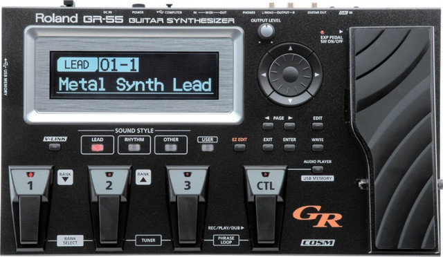 Sintetizador Roland GR-55 (pra vender logo) - Foto 4