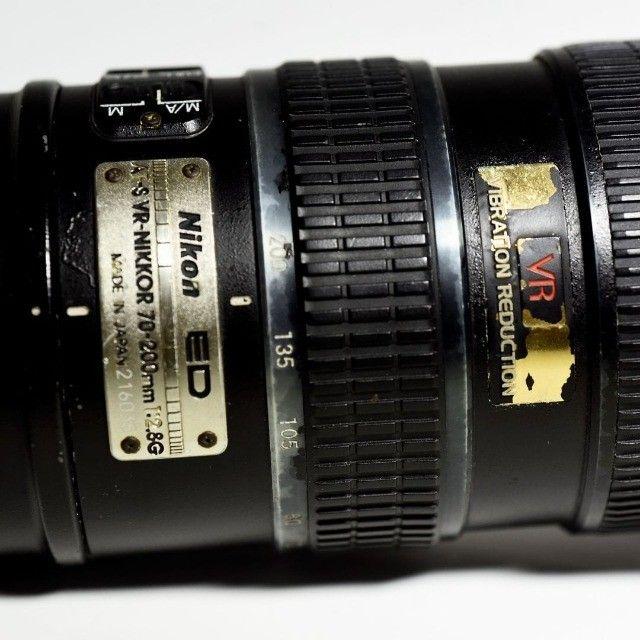 Lente Nikkor 70-200 f2.8 VR1 - Foto 3