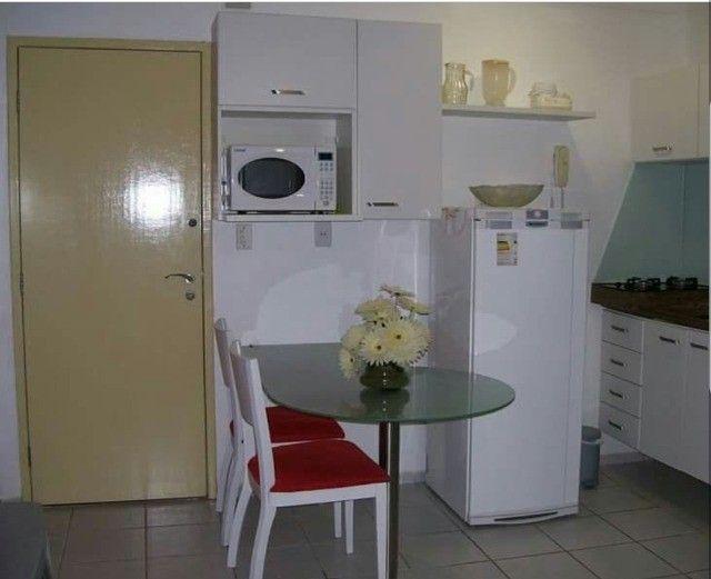 flat 1 quarto mobiliado aluguel temporada  - Foto 2