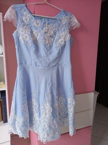 Vestido azul - Foto 4