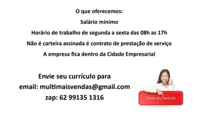 Contrata Teleoperador / Apoio a vendas - Foto 2