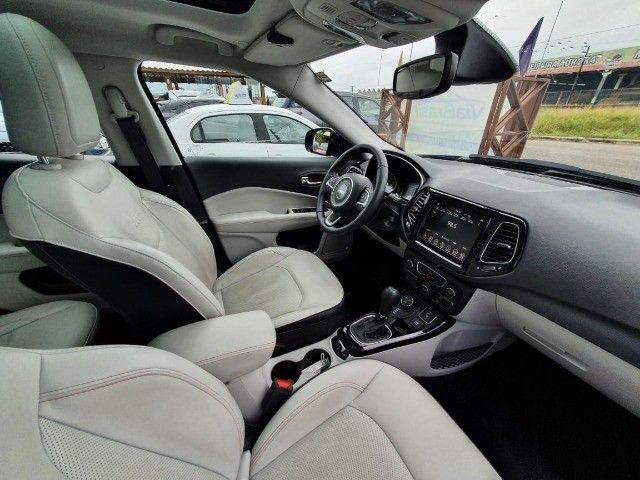 Jeep Compass Limited Diesel 4x4 AT9 (2021) Com Teto e Anenas 9.000 Kms - Foto 8