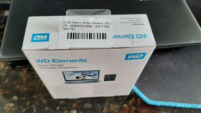 HD Externo 2TB Lacrado! Novo! - Foto 2