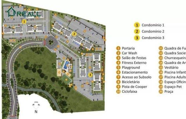 Floresta Sul - Apartamentos com 2 dormitórios 54m² (sendo 1 suíte) - Na Planta - Foto 5