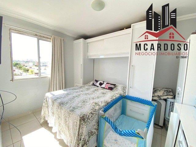 apartamento 2 quartos, otima localização prox. do metro, c/ varanda, samambaia sul - Foto 2
