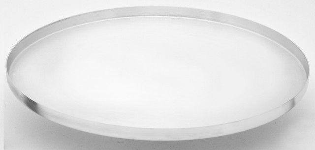 Forma Assadeira Reforçada Profissional Em Alumínio Para Pizza de Todos os Tamanhos