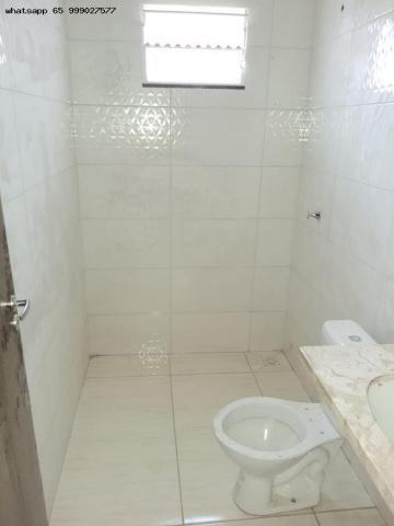 Casa para Venda em Várzea Grande, Jardim Eldorado, 2 dormitórios, 1 banheiro, 2 vagas - Foto 8