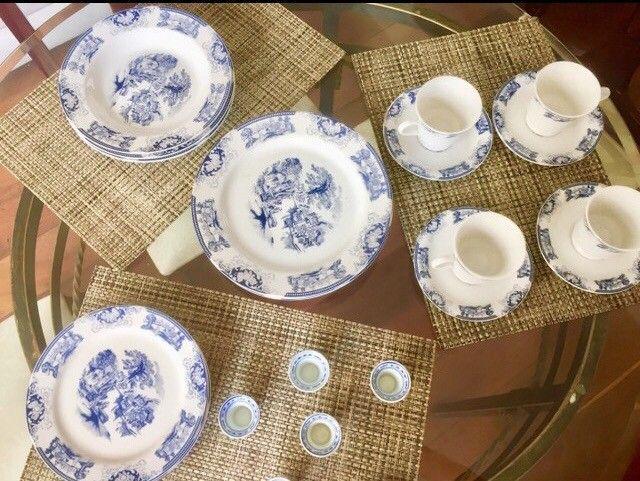 Conjunto porcelanas loucas para chá , jantar - Foto 6
