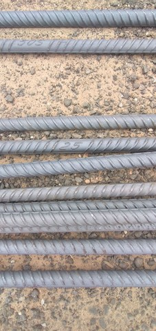 Vergalhao para construção 12 barras de 12 metros cada