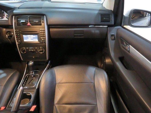 Mercedes-Benz B200 2.0 8v Turbo 4p Automático Top de Linha C/ Teto Panorâmico Único Dono - Foto 12