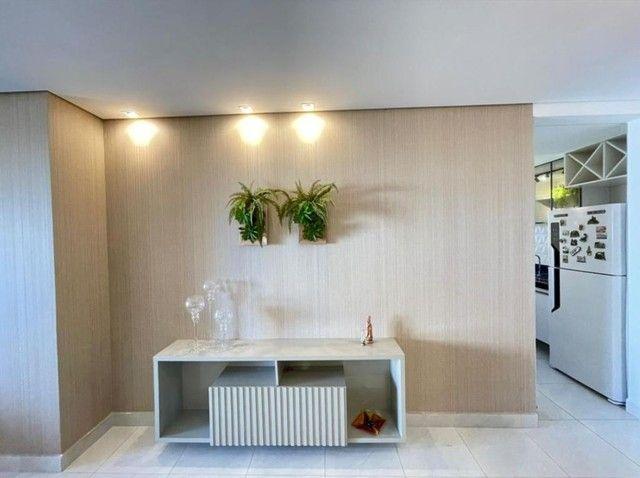 Lindo apto projetado,prédio novo,área de lazer completa,praia do Bessa  - Foto 4