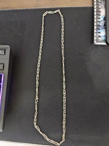 Cordão de prata 65cm