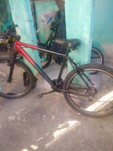 Vendo bicicleta aluminium aro 26  - Foto 6
