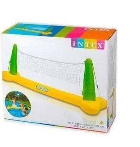 Volei Inflável Praia Piscina Com Bola Rede - Intex 56508 - produto novo em caixa lacrada. - Foto 4