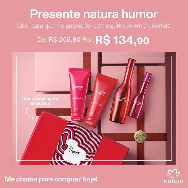 Perfume Humor Natura Kit  - Foto 3