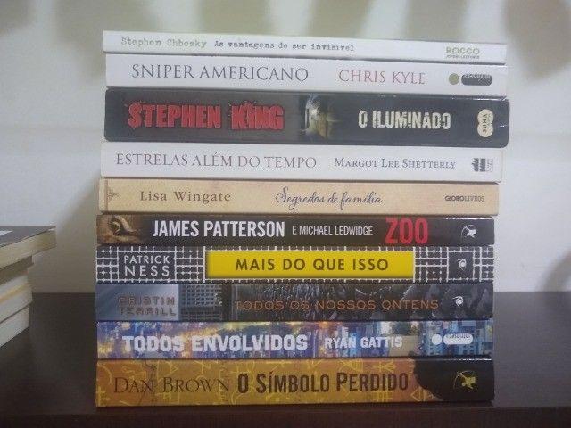 Livros variados e HQ  marvel e DC