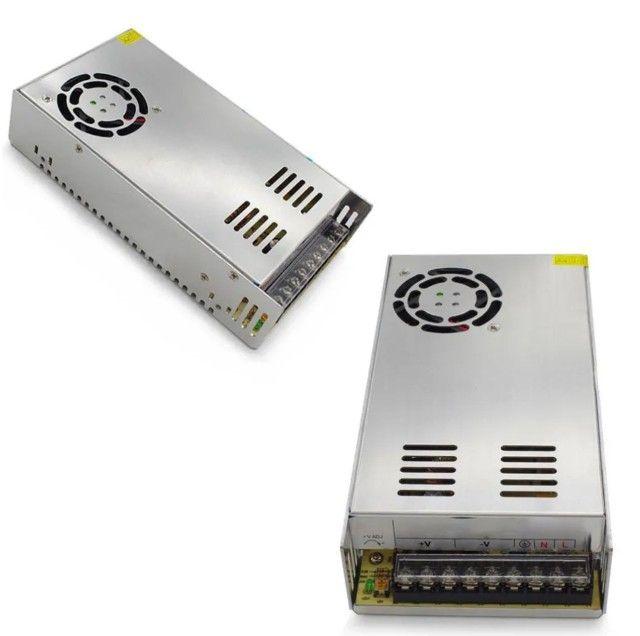 Fonte Chaveada Estabilizada 24v 20a Chave 110v / 220v 500w 24 volts 20 amper - Foto 4
